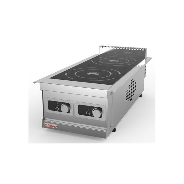 Индукционная плита Dr. Cooker (ЧТТ, ЧелябТоргТехника) ПЭИ-2H DC